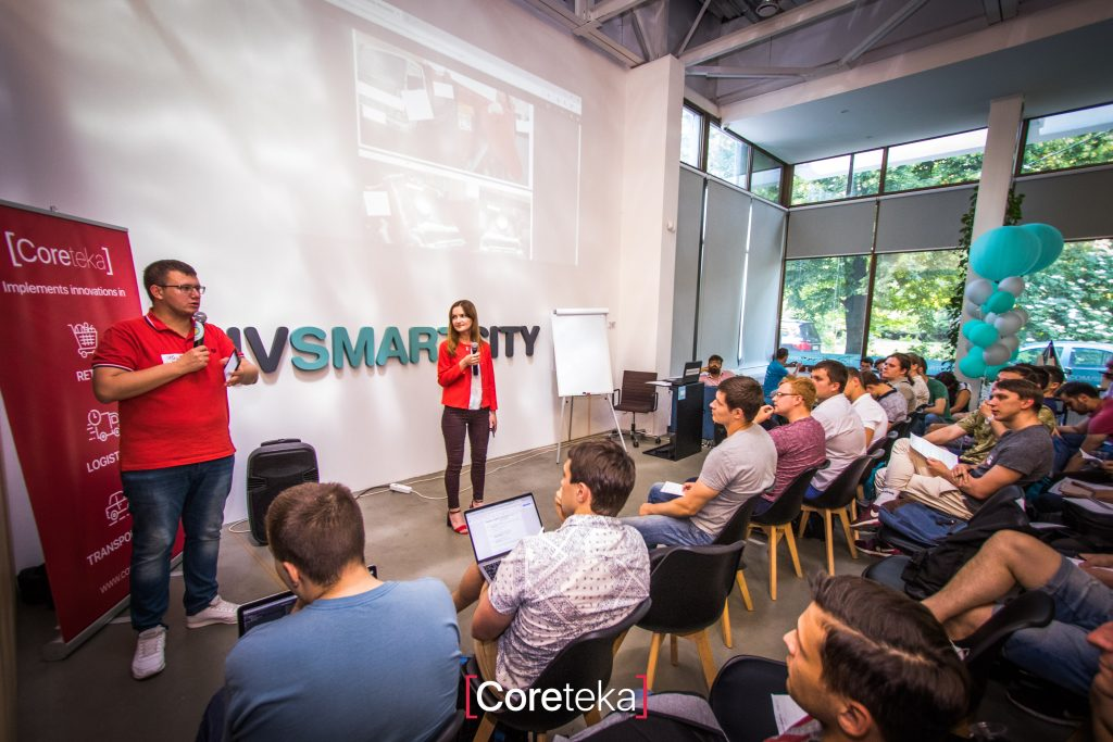 Hackathon - festival for IT-specialists - Coreteka