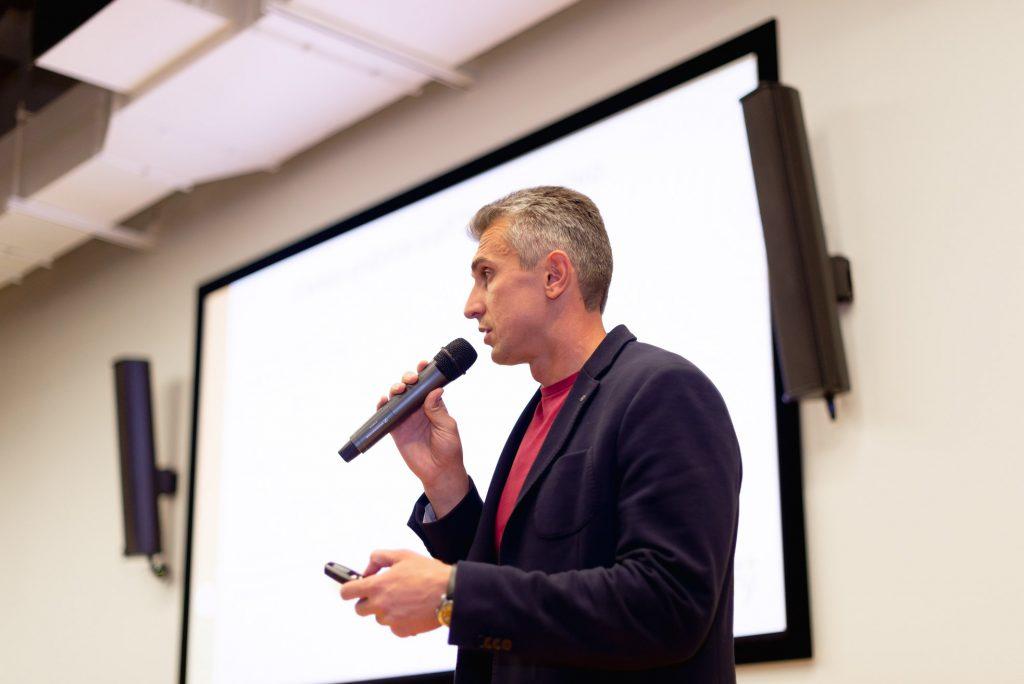 Anton Skokov at CoreTeka event