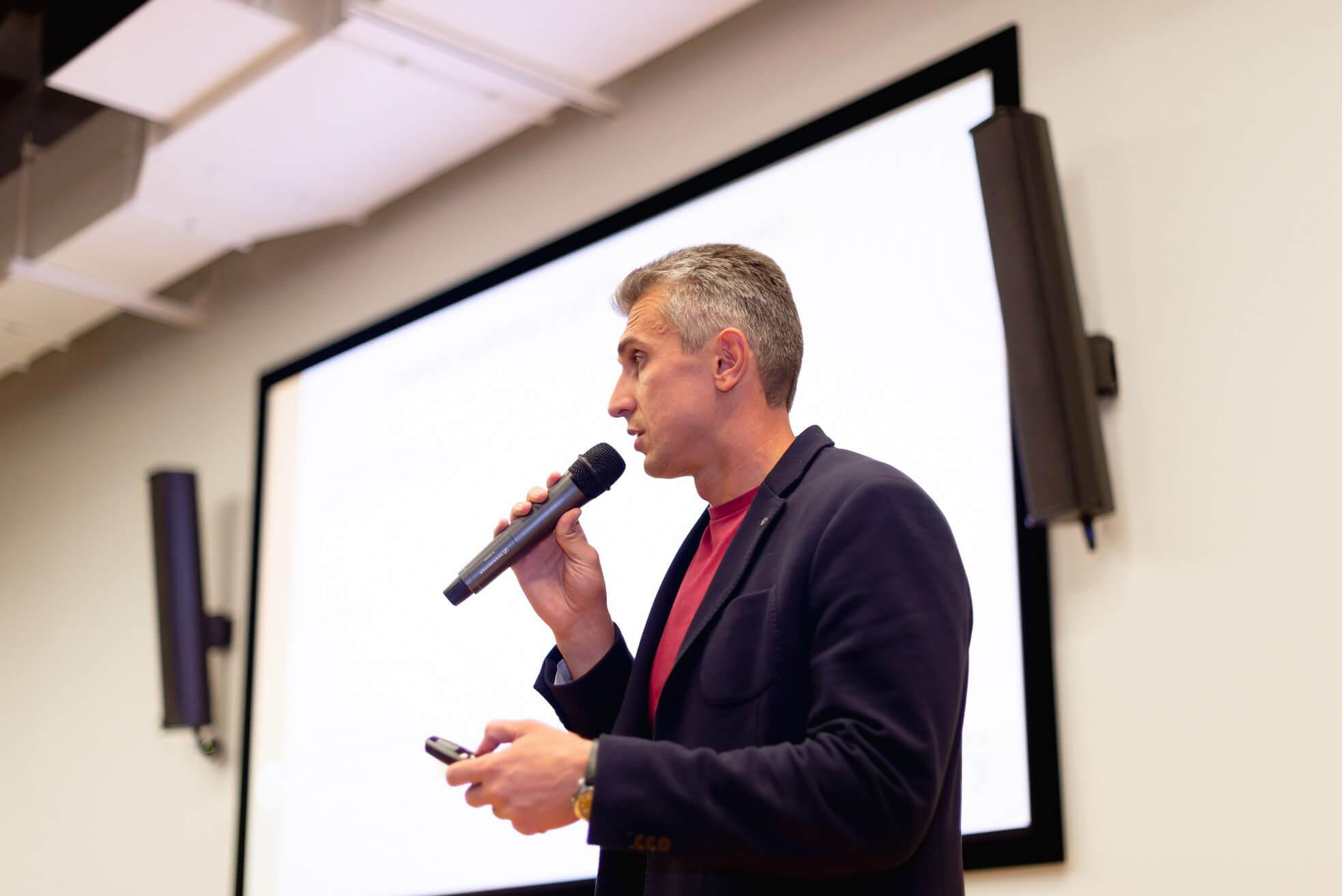 Anton Skokov at Future of logistics