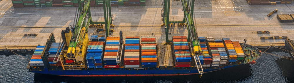 Existing solutions of ocean freight shipping companies
