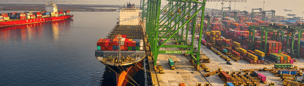 Outlines of ocean freight logistics